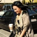 Demi Lovato sighting since leaving rehab  Friday, January 28, 2011 Santa Monica,