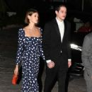 Kaia Gerber and Pete Davidson – Attend a friend's wedding in Miami