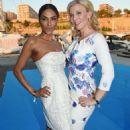 Eva Habermann and Sabrina Setlur at Pixx Lounge Mallorca 2017 - 454 x 735