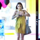 Vanessa Hudgens in Mini Dress Out in Los Angeles