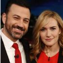 Kate Winslet At Jimmy Kimmel Live! (February 2016) - 454 x 844