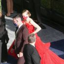 Amanda Seyfried – In a long red dress at 2021 Annual Academy Awards at Union Station in Los Angeles