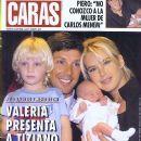 Valeria Mazza, Alejandro Gravier - Caras Magazine Cover [Argentina] (19 March 2002)