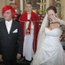Paula Marciniak with Michał Wiśniewski - wedding? - 454 x 324