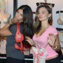 2012 Victoria's Secret Angel Holiday Celebration - 454 x 673