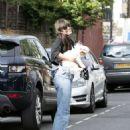 Daisy Lowe in Jeans – Out in London - 454 x 588