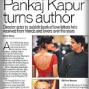 "Press Scan: ""Pankaj Kapur Turns Author. He is compiling hundreds of personal love letters✍ ✉✉✉ that he has preserved over the years as a hobby, for a book he plans to call Mausam of Love..."""