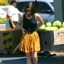 Rachel Bilson Grocery Shopping At Whole Foods