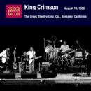 August 13, 1982 - The Greek Theatre Univ. Cal., Berkeley, California