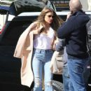 Sofia Vergara – Braving the windy afternoon in Pasadena