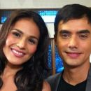 T.J. Trinidad and Iza Calzado