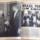 John F. Kennedy - Fatos E Fotos (fatosefotos) Magazine Pictorial [Brazil] (23 November 1963) - 454 x 286