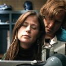 Maura Tierney and Woody Harrelson