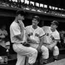 Ted Williams, Jim Piersall & Jackie Jensen