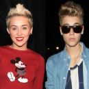 Miley Cyrus and Justin Bieber - 454 x 336