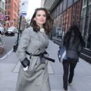 Hayley Atwell – Arrives at AOL Build Series Studio in New York City