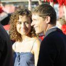 Madison Burge and Matt Lauria
