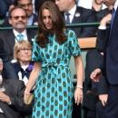 Prince William Windsor & Kate Middleton - Wimbledon The Championships  (July 6, 2014)