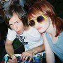 Hayley Williams and Josh Farro - 393 x 405