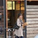 Leighton Meester at Mendocino Restaurant in Santa Monica 1/21/ 2017