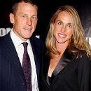 Lance Armstrong and Kristin Armstrong