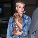 Katy Perry – Out with her dog in NYC - 454 x 681