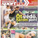 Nemzeti Sport - Nemzeti Sport Magazine Cover [Hungary] (18 August 2014)