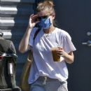 Kate Mara – Out for a coffee run in Los Angeles