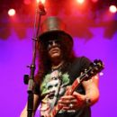 Slash performs onstage at the GIBSON NAMM JAM Opening Party 2020 at City National Grove of Anaheim on January 16, 2020 in Anaheim, California