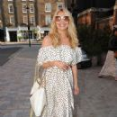 Tess Daly – Seen at Chiltern Firehouse in London - 454 x 618