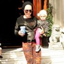 Pink leaving her hotel in London September 13,2012