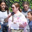 Melissa McCarthy out with her daughters and their friends in Los Angeles, California on April 04, 2017 - 403 x 600