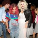 Bella Thorne – Arrives to Halloween party in Los Angeles - 454 x 631