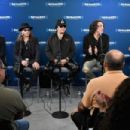 Kiss attends SiriusXM's Town Hall with KISS on October 29, 2018 in New York City - 454 x 303