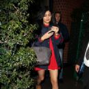 Kylie Jenner Leaving Mr Chows In Beverly Hills