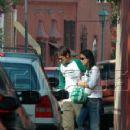 Diego Luna and Alice Braga