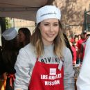 Amanda Crew – LA Mission's Thanksgiving Dinner in Los Angeles 11/23/ 2016 - 454 x 656