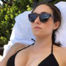 Emmy Rossum in a Bikini – Instagram