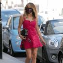 Lizzie Cundy in Mini Dress – Out in London - 454 x 615
