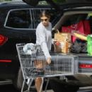 Elisabetta Canalis shopping at Bristol Farms in Beverly Hills - 454 x 303