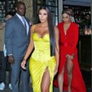 Kim Kardashian out for dinner at Chinese Tuxedo in NY