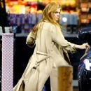 Isla Fisher at a Gas Station in Los Angeles 03/07/2019 - 454 x 681