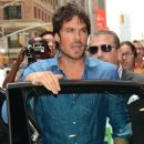 Ian Somerhalder- CW Stars Out In New York City - 387 x 600