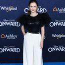 Olivia Sanabia – Posing at 'Onward' Premiere in Hollywood - 454 x 605