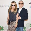 Thalia and Tommy Mottola- Tommy Hilfiger Women's - Backstage - Spring 2016 New York Fashion Week: The Shows