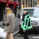 Elsa Hosk and Tom Daly – Returning to their SoHo apartment after a stroll