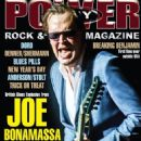 Joe Bonamassa - Power Play Magazine Cover [United Kingdom] (July 2018)