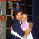 Jencarlos Canela and Gaby Espino