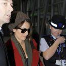 Penelope Cruz Arriving At Heathrow Airport. London, December 3 2009
