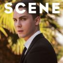 Logan Lerman Scene Magazine Cover